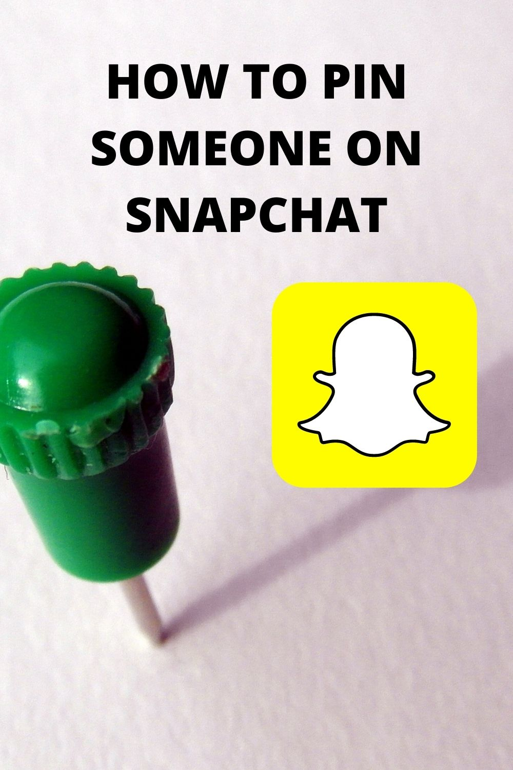 Why can't I pin someone on Snapchat android