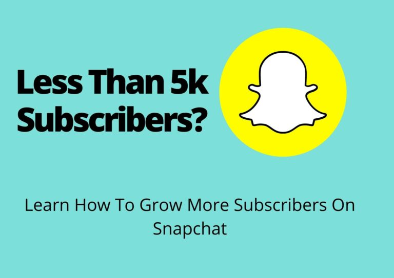 5k subscribers on snapchat